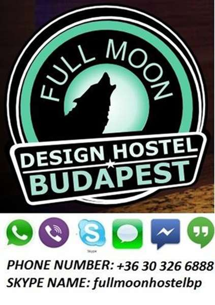 Full Moon Design Hostel Budapest - 1