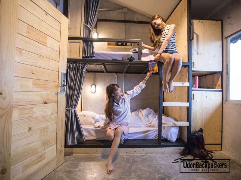 UdonBackpackers Beds and cafe - 0